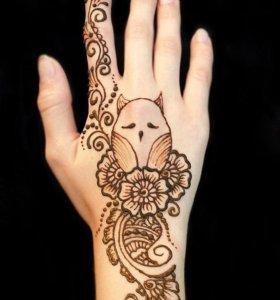 Мехенди - роспись хной.