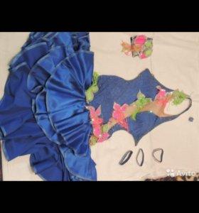 Платье для спортивных бальных танцев La