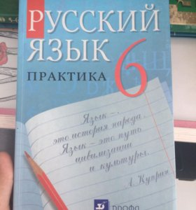 Учебник по русскому языку, 6 класс (практика)