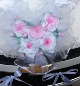 Аренда Свадебное украшение на авто.