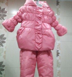 Костюм (курточка+полукомбинезон) Mothercare