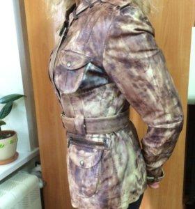 Куртка из натуральной кожи.Возможен обмен.Торг.