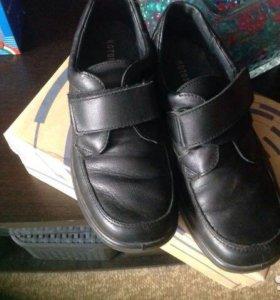 Ботинки Котофей кожаные