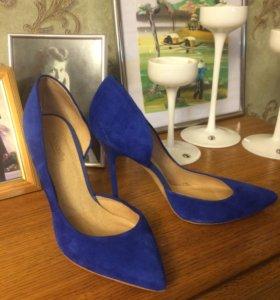 Туфли новые mascotte синие