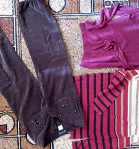 много разных штанов и брюк от р.38 до 48