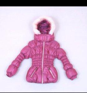 Новая зимняя куртка, размер 110-116