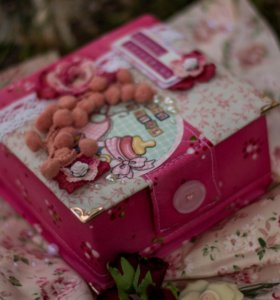 Коробочка Мамины сокровища для девочки.