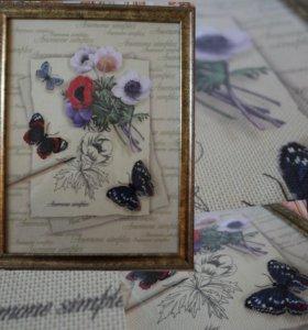 Картины вышитые крестиком