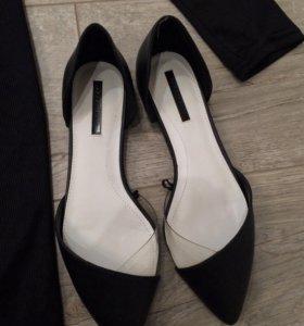 Новые туфли Zara 36,5 размер