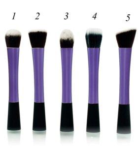 Набор кистей для макияжа 5шт.новые