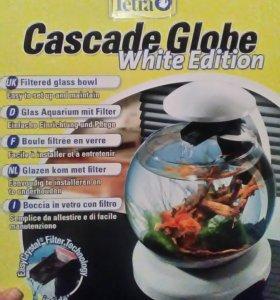 Аквариум Tetra Cascade Globe белый