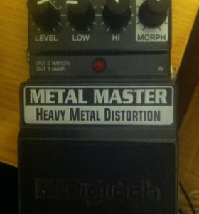 Digitech metal master hevi metal distortion