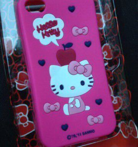 "Чехол для iPhone 4/4S ""Hello Kitty"" новый"