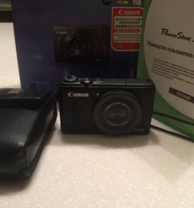Фотокамера canon power shot s100