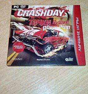Компьютерная игра Crash day тачки пушки рок-н-рол