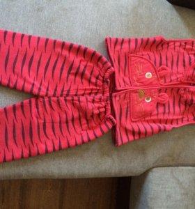 Детский демисезонный костюм на девочку 3-ка