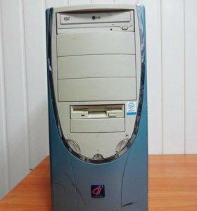 Компьютер 478 Pentium4 - 2.40, 1024Mb DDR1, 20 IDE