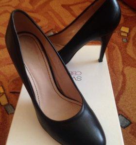 Туфли, натуральная кожа, 38 размер