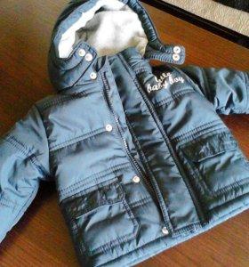 Осенняя куртка на мальчика