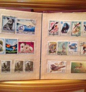 Марки почтовые коллекции