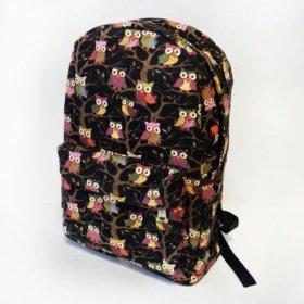 Новый рюкзак (в черном и бежевом цвете)