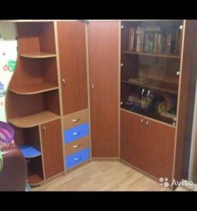 Подростковая мебель (стенка + комп.стол)