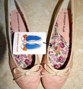 Новые туфли балетки на 40,5-41 размер