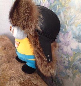 Норковая шапка ( мужская )