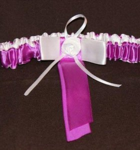 Новая подвязки невесты ручной работы