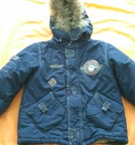 Курточка зимняя р110