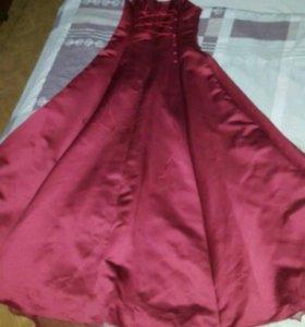 Платье выпускное;бальное