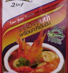 Tom Yum с кокосовым молоком Таиланд