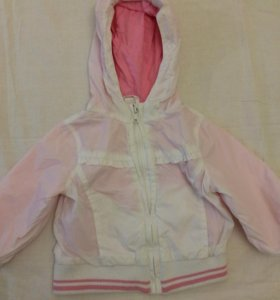 Куртка ветровка для девочки, 74 см