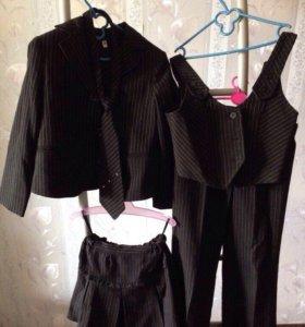 Школьный костюм 5-ка для девочки