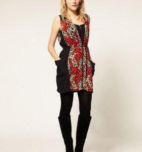 Платье Vero Moda с графичным принтом