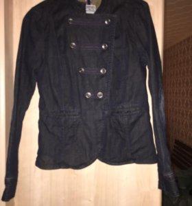 Джинсовый пиджак TomTailor