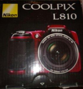 Фотоаппарат Nixon coolpix L810
