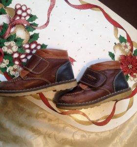 Ботинки для мальчика. 23 размер. Pablosky