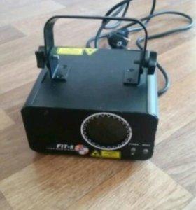 Лазер для светомузыки (подвесной 2 шт)