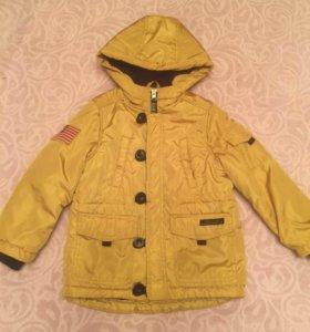 Куртка для мальчика рост 110