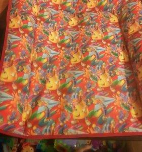 Матрасик-коврик на пеленальный столик