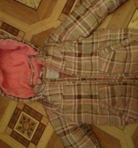 Куртка на осень для девочки 1-2 г.