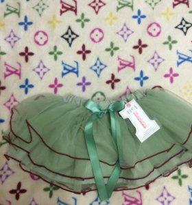 Корейская юбка на 1-2года