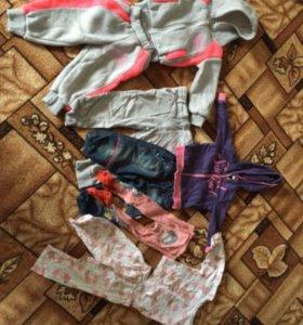 Вещи пакетом на девочку 1-3 лет