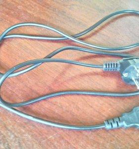 Сетевой кабель, б.у