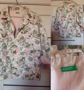 Джинсовая куртка Benetton