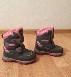 Зимние ботинки р-р 26