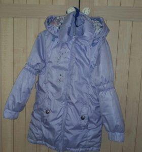 Куртка на осень 4-6 лет
