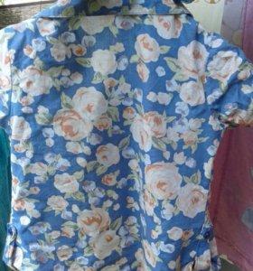 Блузка на девочку.3-4 года в отличном состоянии