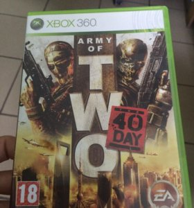 Army of two 40 day. Xbox 360